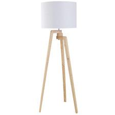 Oslo Wooden Floor Lamp