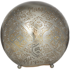 Azizah Metal Round Table Lamps (Set of 2)