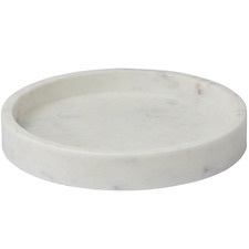 White Bianco Marble Tray