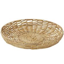 Pawnee Metal & Water Hyacinth Decorative Wall Baskets (Set of 2)