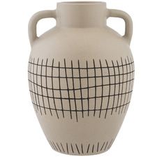 Taupe Mostyn Earthenware Vases (Set of 2)