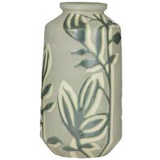 Moss Earthenware Vases (Set of 2)