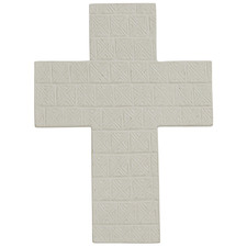 Grey Cruze Cross Wall Accents (Set of 2)