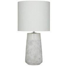 Speckled Grey Cullen Ceramic Table Lamps (Set of 2)