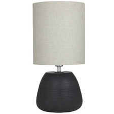Black Neo Ceramic Table Lamps (Set of 2)