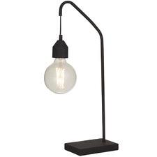 Black Floyd Metal Table Lamps (Set of 2)