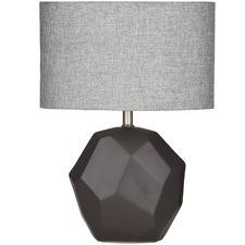 Black Gita Ceramic Table Lamps (Set of 2)
