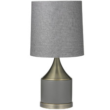 Grey Dane Ceramic Table Lamps (Set of 2)