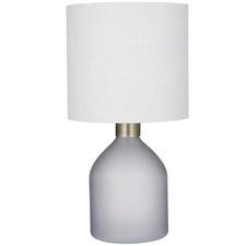 Smoke Grey May Glass Table Lamps (Set of 2)
