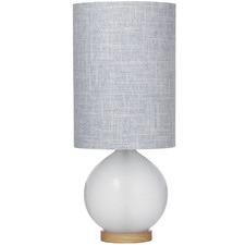 Blue Elliott Glass Table Lamps (Set of 2)