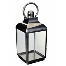Allegro Metal & Glass Lantern