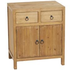 Natural Beldon Fir Wood Sideboard