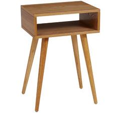 Silla Pine Wood Bedside Table