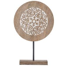Mazil Mango Wood Decorative Stand