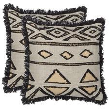 Azumi Cotton-Blend Cushions (Set of 2)