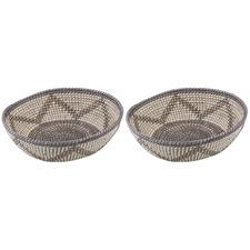 Razi Seagrass Decorative Bowls (Set of 2)