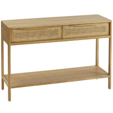 Satali Cane Console Table