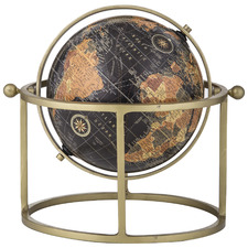 Zach World Globe on Metal Stand