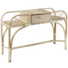 Bolzo Rattan Console Table