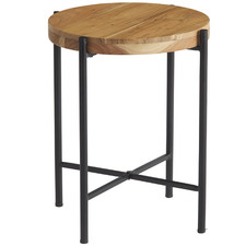 Esau Wooden Side Table