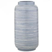 Blue Flin Ceramic Vase