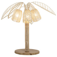 Alba Rattan Table Lamp