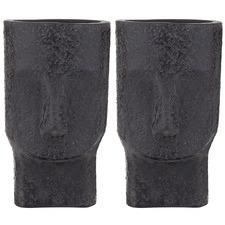Paru Ceramic Vases (Set of 2)