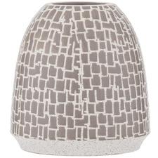 Grey Katmi Ceramic Vase