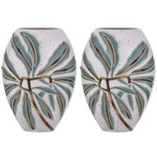 Arali Ceramic Vases (Set of 2)