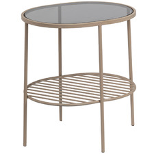 Auwil Glass Side Table