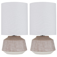 Alan Ceramic Table Lamps (Set of 2)