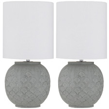 Aurin Ceramic Table Lamps (Set of 2)