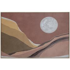 Malibu Dreaming Framed Canvas Wall Art