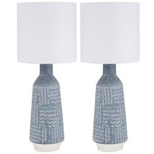 Boncho Ceramic Table Lamps (Set of 2)