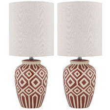 Debby Ceramic Table Lamps (Set of 2)