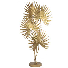 Gold Elsie Iron Floor Lamp
