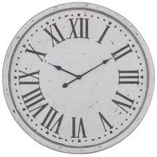 80cm White & Grey Lillian Wall Clock