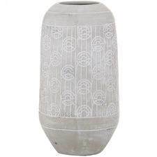 Cream Linnea Ceramic Vessels (Set of 2)