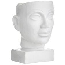Matte White Galleria Ceramic Sculptures (Set of 2)