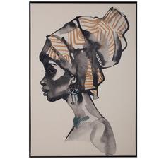Solange Framed Canvas Wall Art
