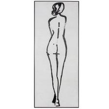 The Figure Framed Canvas Wall Art