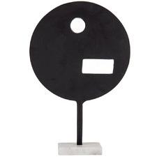 Black Makai Aluminium Sculpture