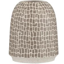 Tall Mushroom Bisma Stoneware Vase