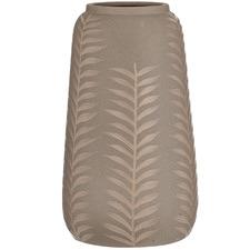Taupe Fawn Rishi Stoneware Vase