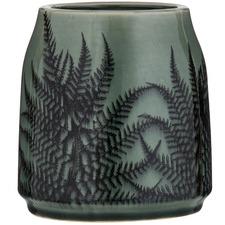 Sage Caris Stoneware Vase