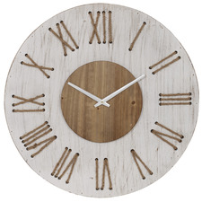 68cm White Hedland Wall Clock