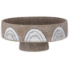 Stone Arkett Ceramic Decorative Footed Bowl