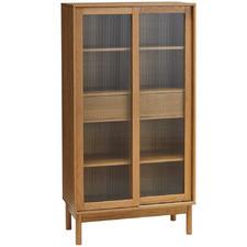 Natural Penda Display Cabinet