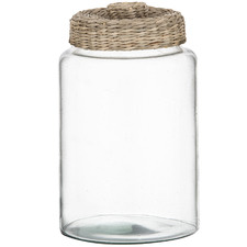 Sandstorm Glass Storage Jar