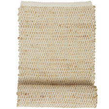 Natural & White Orson Cotton-Blend Table Runner